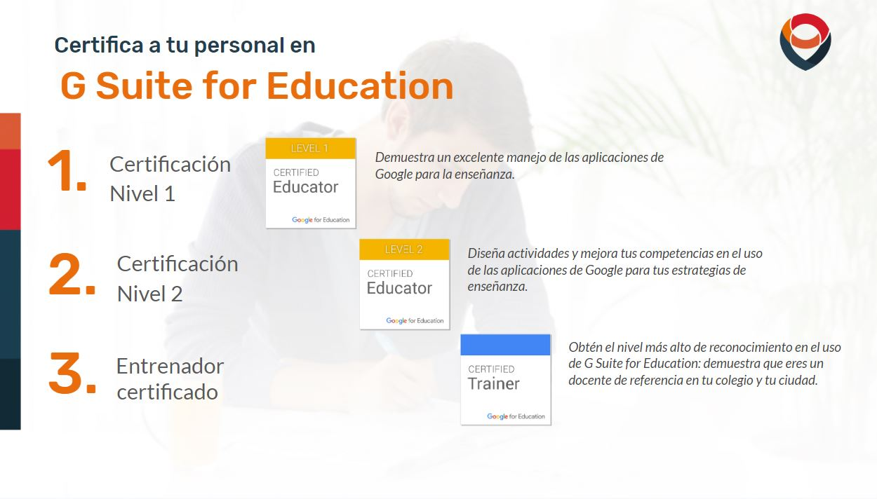 Certificación en Google Suite for Education